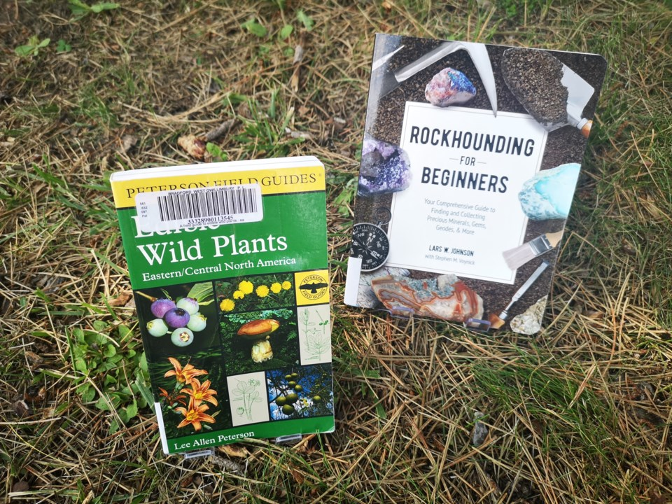 outdoor books for BWG library picks