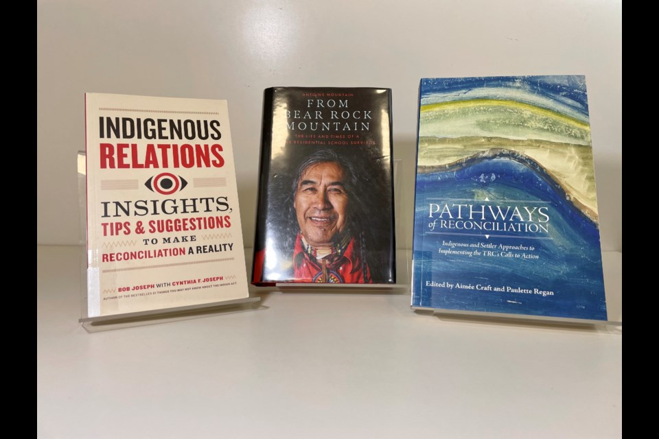 Indigenous reads from the Bradford Library