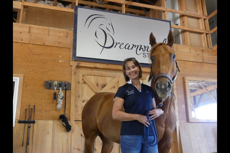 Tracey Evans is the owner of Dreamwinds Equine Assisted Learning Centre. Jenni Dunning/BradfordToday