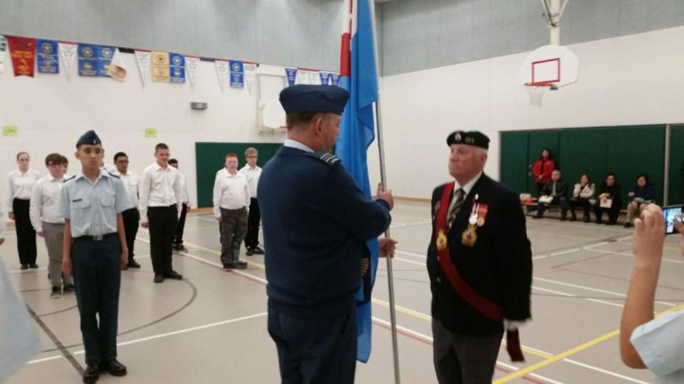 2018-10-15-legion air cadets flag