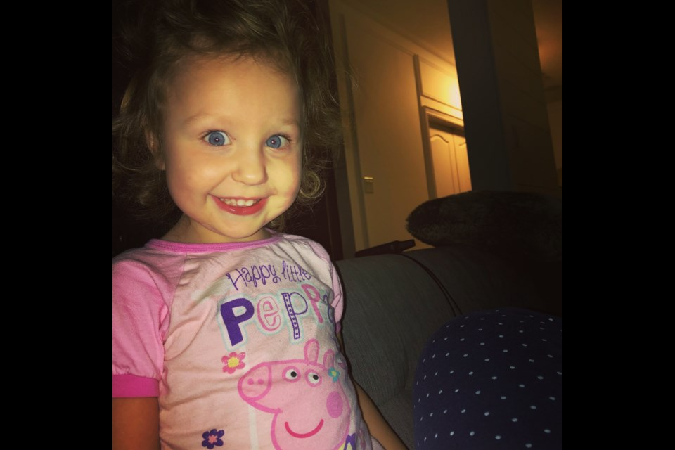 Fundraisers are popping up to support Bradford's Brooklyn Mauca, 3, and her family. Submitted photo