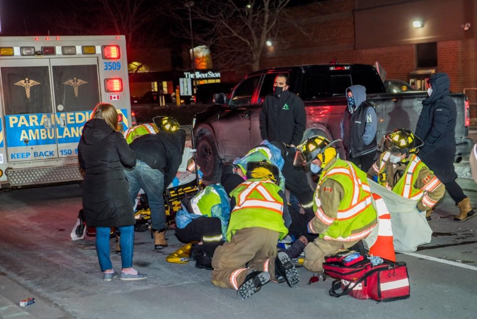 2021-01-22 MVC Pedestrian struck (1)