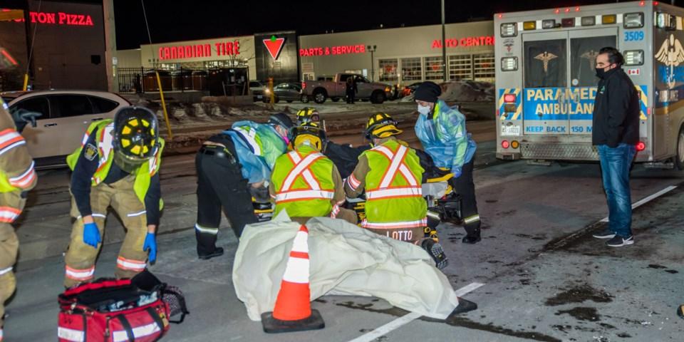 2021-01-22 MVC Pedestrian struck (3)