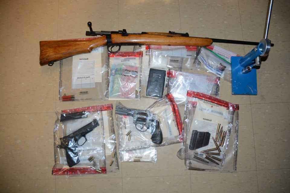 Search Warrant Seized Property