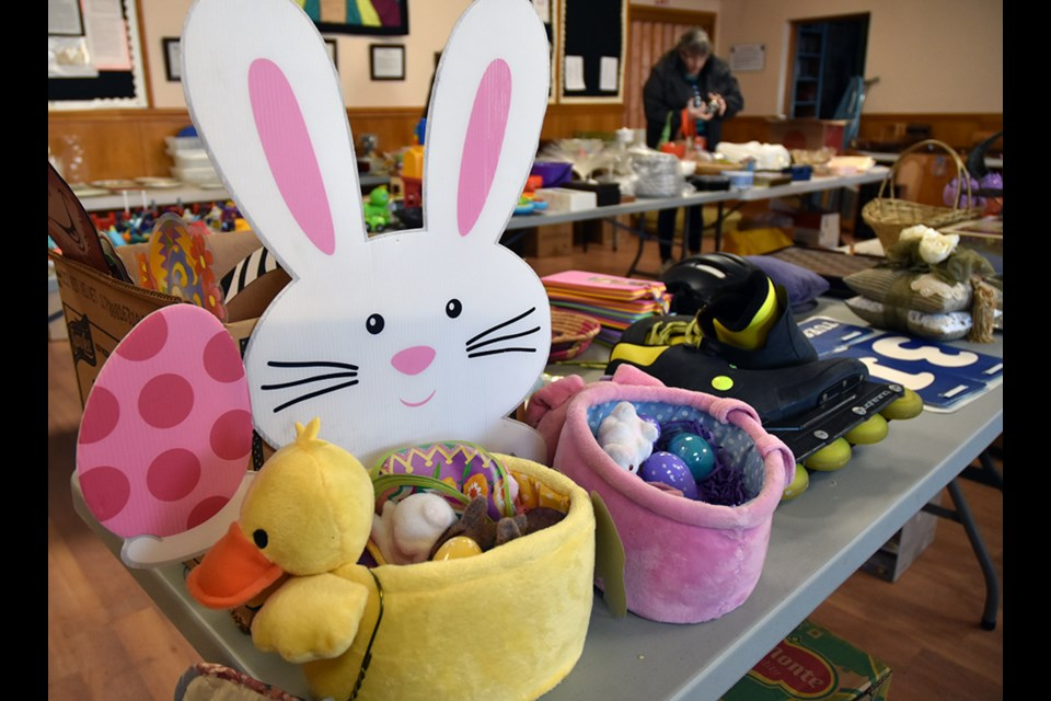 Easter is coming - and the March Treasure Sale at Bradford United Church had something for the season. Miriam King/Bradford Today