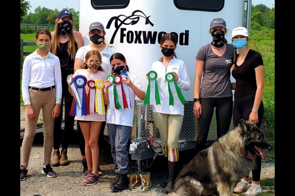 Foxwood team at a competition. Submitted.