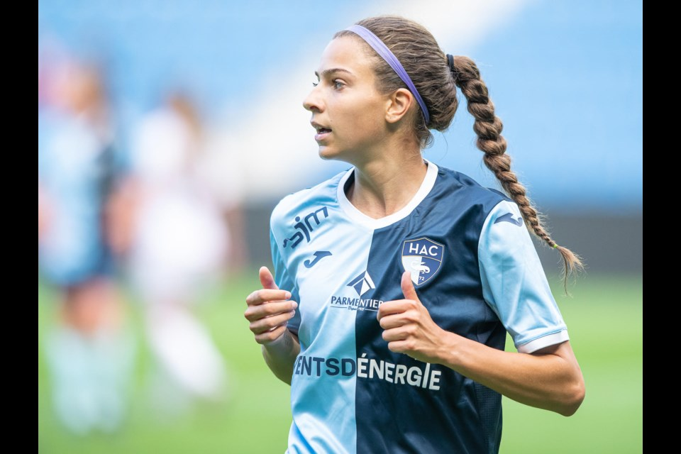Kelsey Araujo is now living in France as a professional soccer player