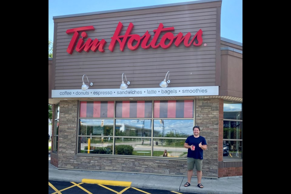 Bradford Ward 2 Councillor Jonathan Scott is a big supporter of the Tim Hortons Camp Day, and as a former camp counsellor for those with special needs, he gladly supports the campaign ever year.