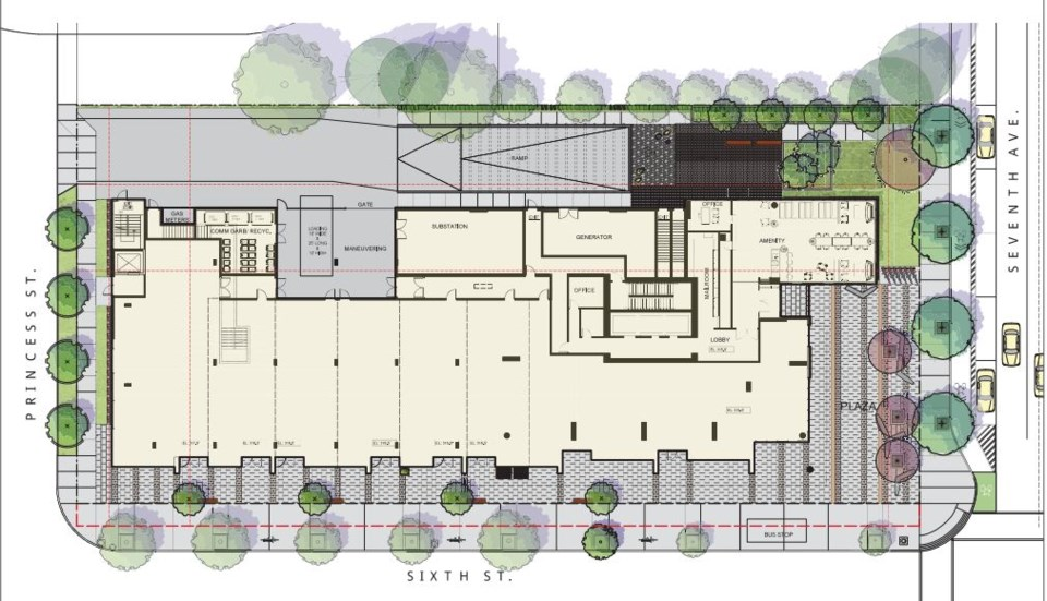 640 Sixth Stree revised proposal