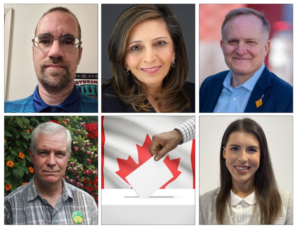 New Westminster-Burnaby Candidates 2021