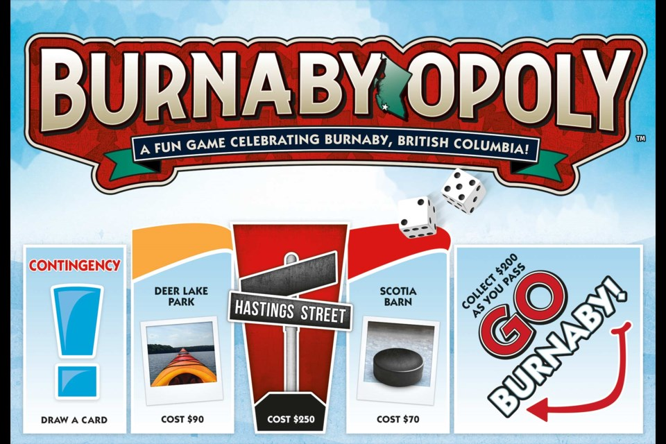 Outset Media has partnered with Walmart Canada to launch  Burnaby-Opoly, a new limited-edition board game that includes some of Burnaby's most well-known locations.