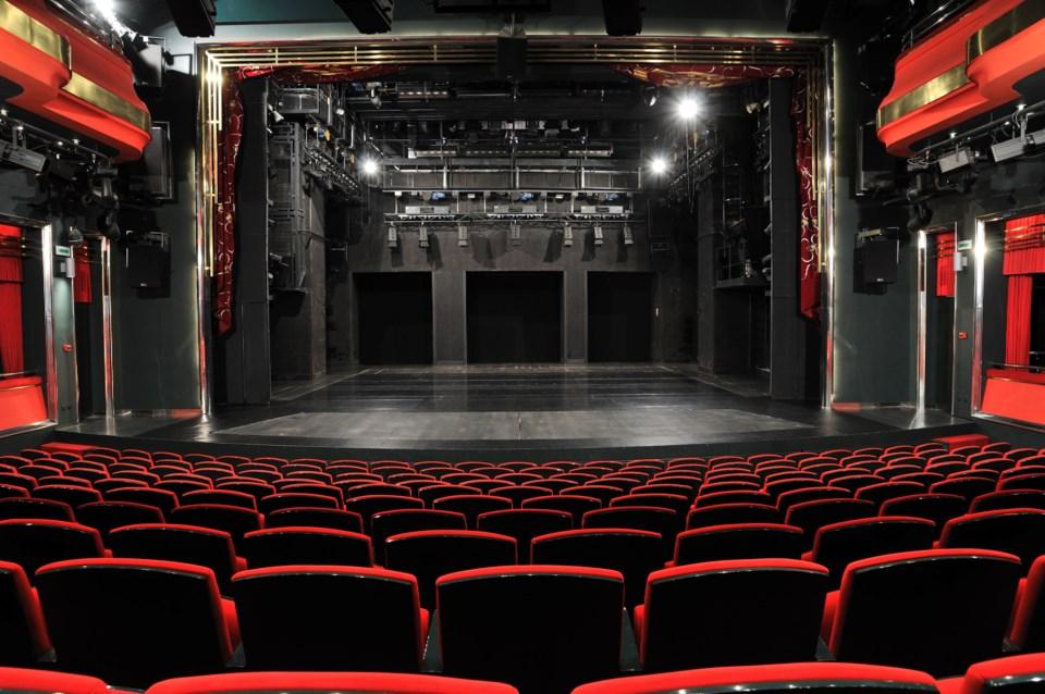 Theatre Seats Empty Stage