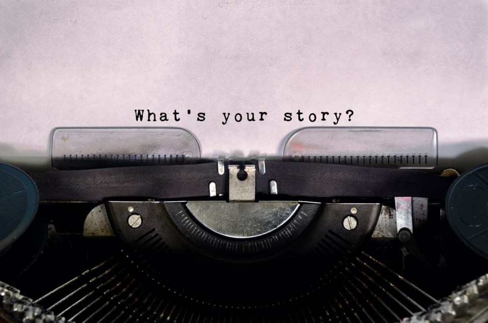 Creative Writing typewriter