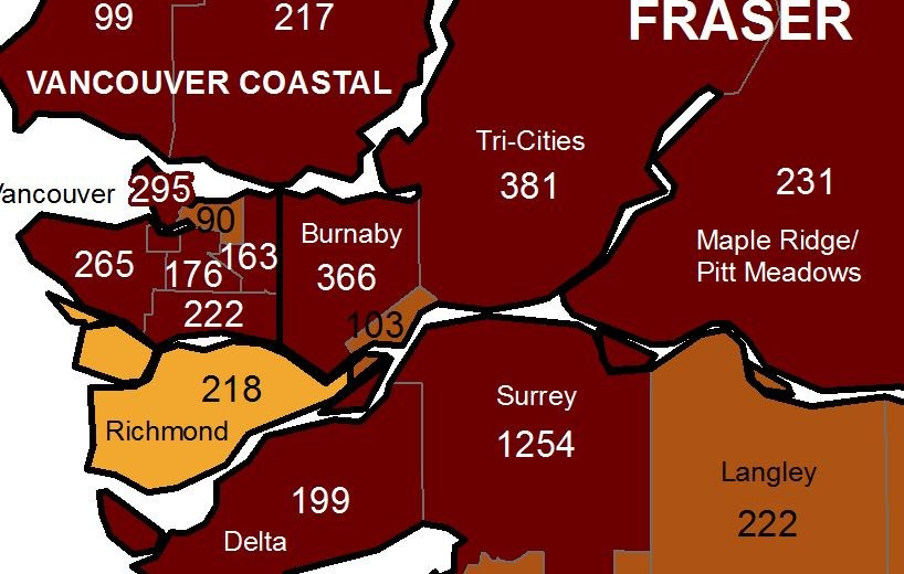 covid record burnaby cases