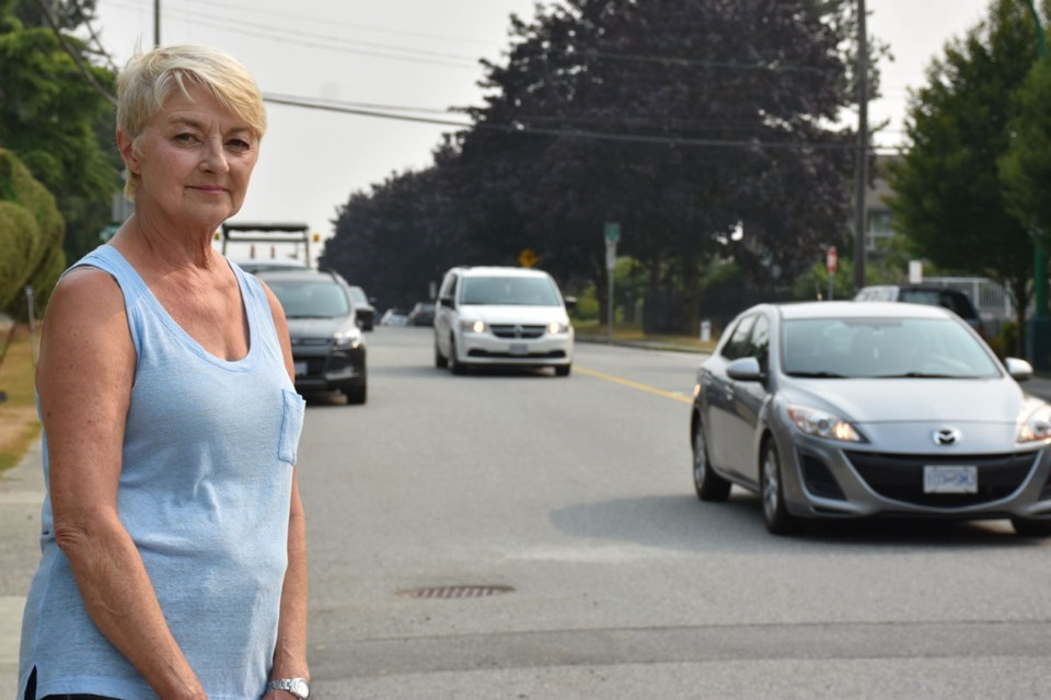 duthie-traffic flagel