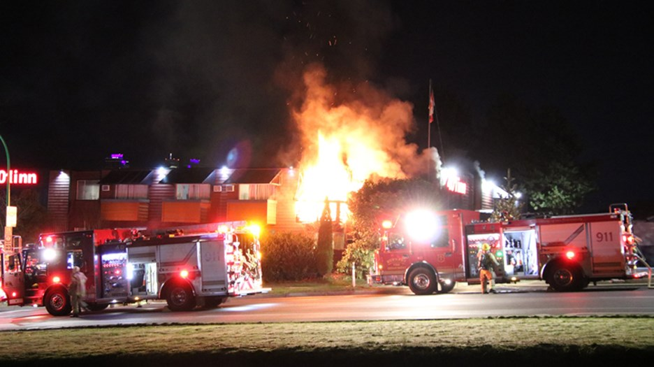 Just after 2 a.m. on Jan. 23, Burnaby firefighters responded to the 401 Inn Motel at 2950 Boundary Rd. for a fire.