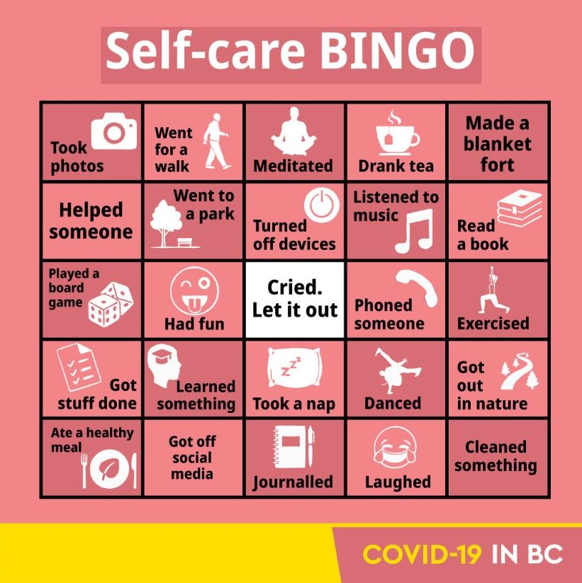 Opinion: B.C. government rightly roasted over dumb 'self-care bingo'