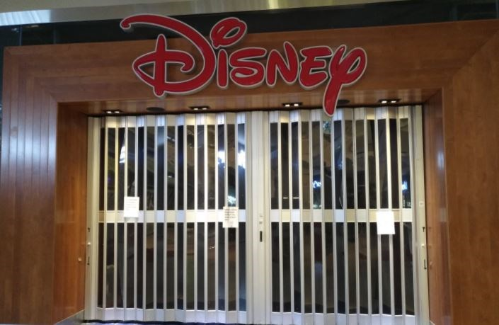 disney burnaby mall