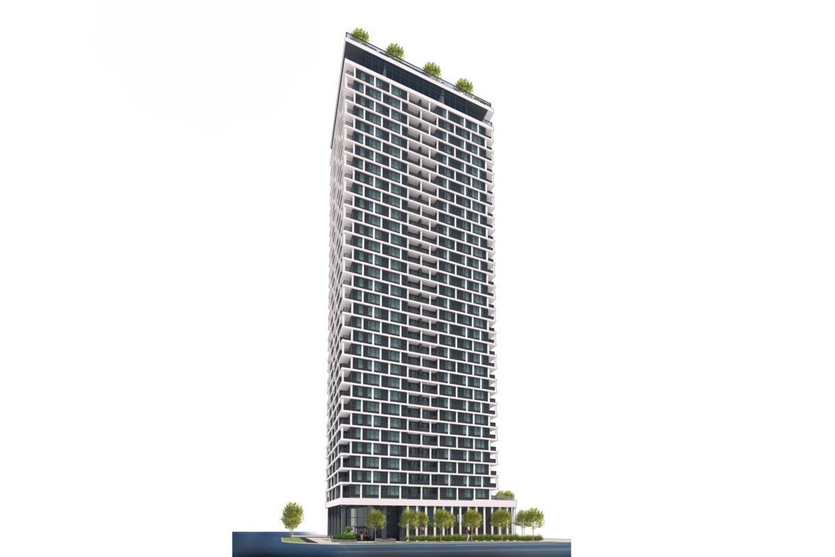 This 34-storey Burnaby high-rise just received $100M in federal funding