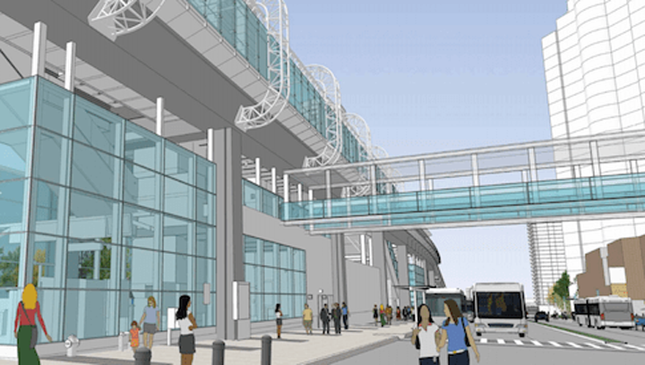 Metrotown SkyTrain-to-mall pedestrian bridge project shelved - for now