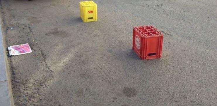 milk crates one