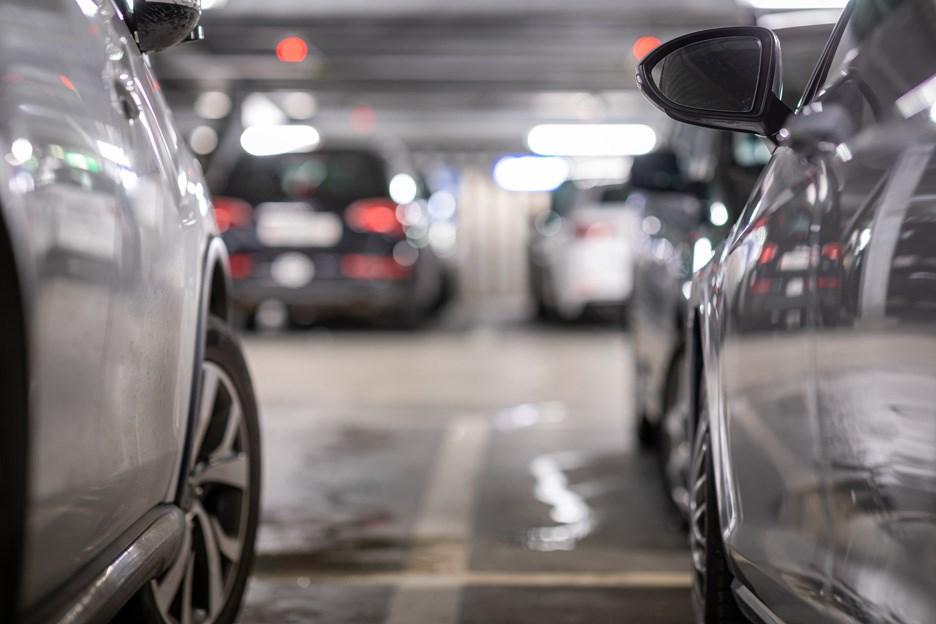underground parking scam spot