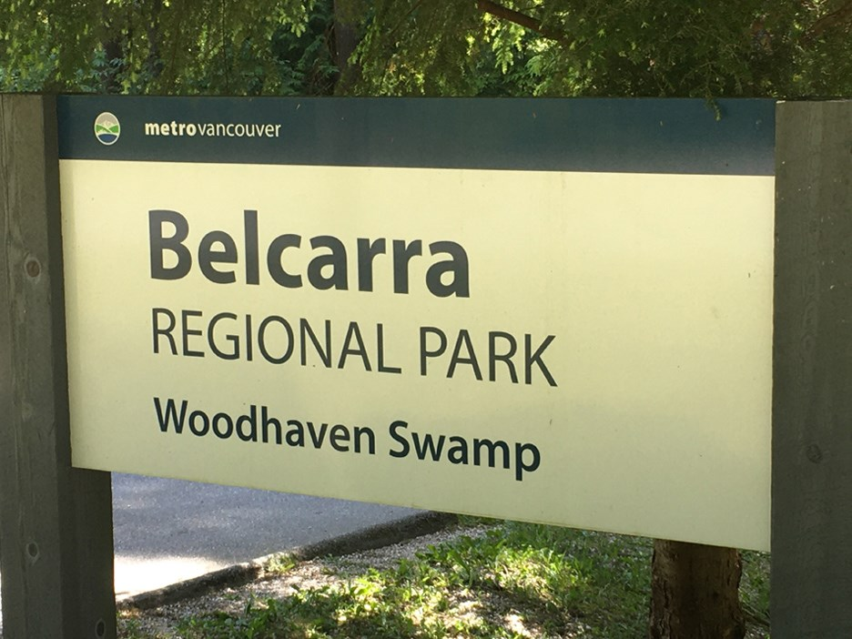 Woodhaven Swamp Sign