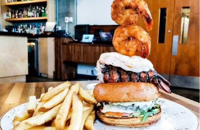 Just look at this burger.