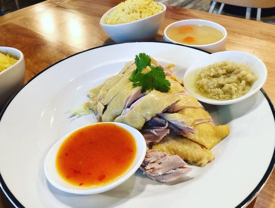 chicken rice green oak