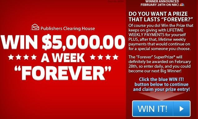 publishers-clearing-house scam