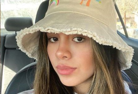 A bucket hat sold by Urban Outfitters.