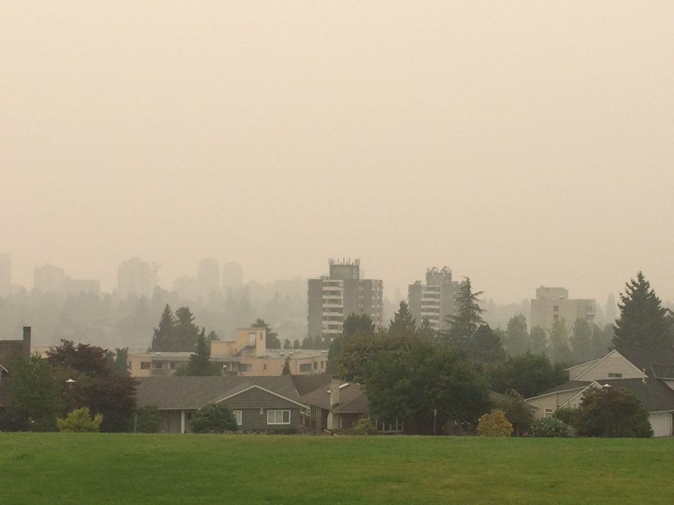 New West smoky air 2020