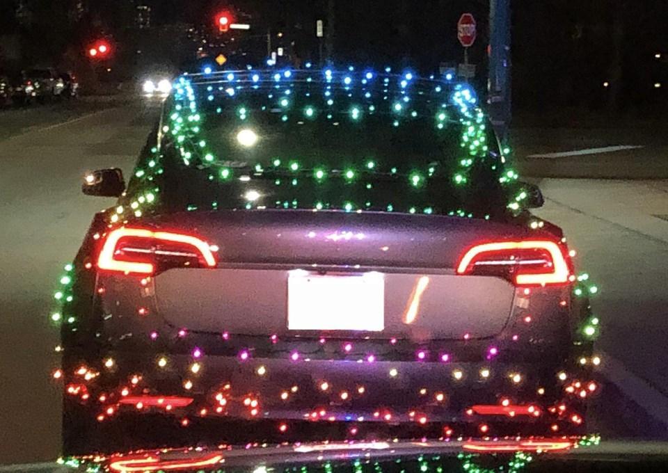 Christmas TeslaWEB