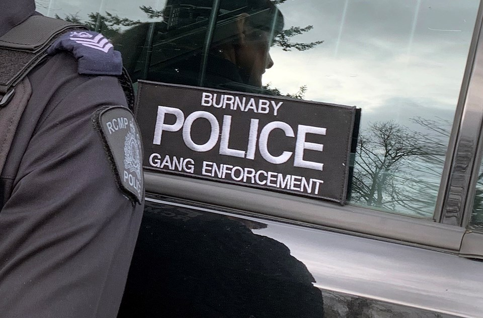 Burnaby RCMP's gang enforcement team has been operational since the third week of January.