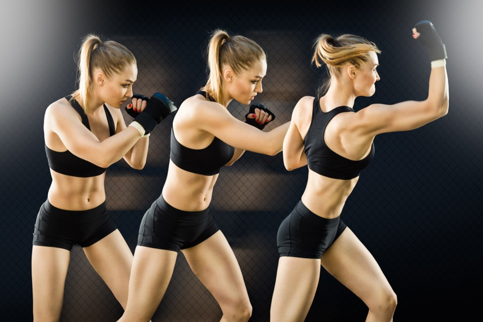 The online cardio kickboxing classes provide a highly effective full-body workout.