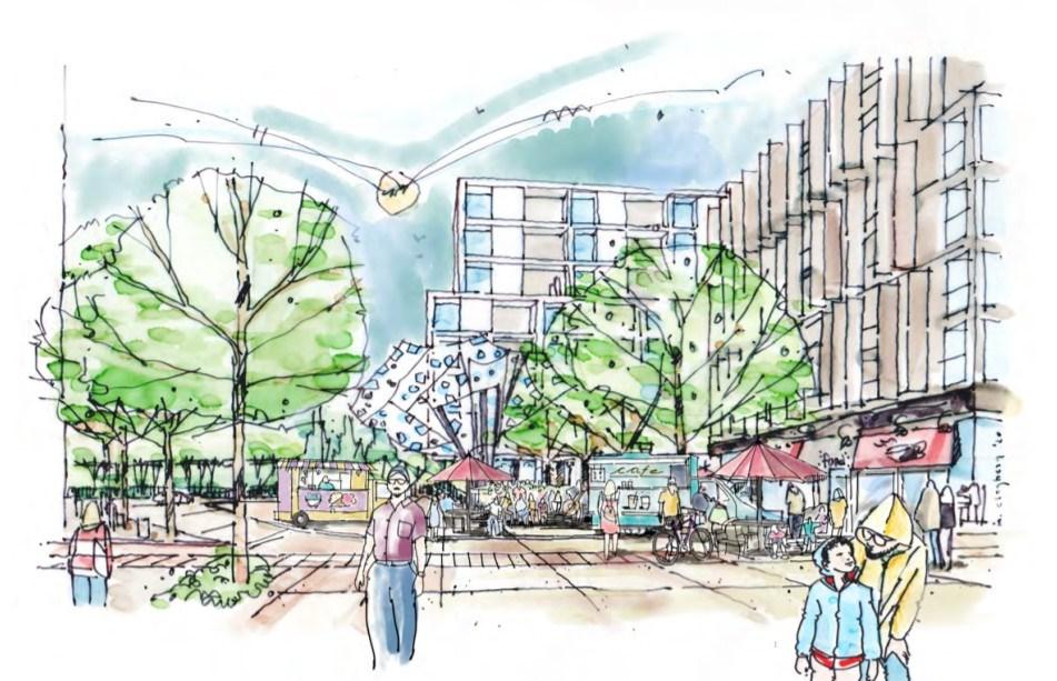 city-of-burnaby-lochdale-urban-village-rendering
