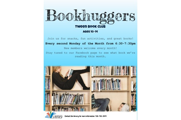 Bookhuggers Poster