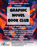 Graphic Novel Book Club Poster