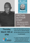 Maurice Carlos Ruffin Virtual author chat