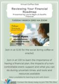 Financial roadmap Club Coffee Club Poster