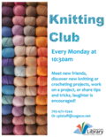 Knitting Club 2019