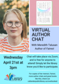 Meredith Talusan Virtual author chat
