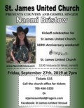 Naomi Bristow Poster- September 27th, 2019 St James Stroud
