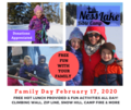 Family Day February 17, 2020 Facebook Post