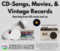 CD Songs, Movies and Records