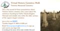Virtual Historic Cemetery Walk