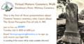 Virtual Historic Cemetery Walk (1)
