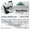 Ray Olson Feb 2 2020