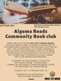 NCC Algoma Reads Poster