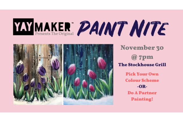 Copy of Copy of Copy of Copy of Copy of Presents Paint Nite